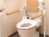 トイレ用手すり(はね上げ式)